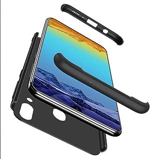 Lanpangzi TPU silikon 3 i 1 kombination ultratunt fodral med [skärmskydd i härdat glas] reptåligt skyddande fodral, Telefo...
