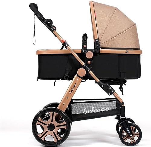 Kinderwagen Winter und Sommer kann in der Kindertrolley Portable Kinderwagen sitzen Einfach zu verwenden (Farbe   1 )