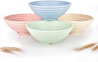 Wheat straw to promote wheat bowl, straw tableware set, children's set bowl, unbreakable fresh-keeping bowl
