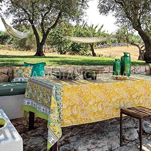 Bassetti - copridivano telo arredo bassetti granfoulard faenza i1 - 3 misure giallo - 180x270
