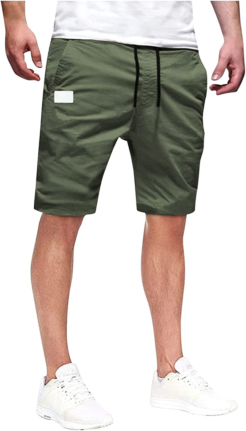 Selling rankings Toamen Men Finally popular brand Cargo Shorts Summer Fit Casual Relaxed L Beach