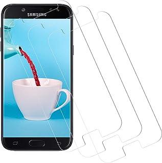 CNXUS Skärmskydd för Samsung Galaxy J5 2017 [3-pack] Samsung Galaxy J5 2017 härdat glas, anti-fingeravtryck, anti-repor, 9...