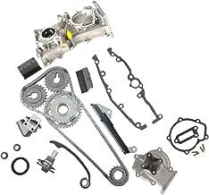MOCA Timing Chain Kit with Water Pump & Oil Pump for 1991-1999 Nissan Sentra NX 200SX 1.6L L4 16V DOHC Engine Code GA16DE
