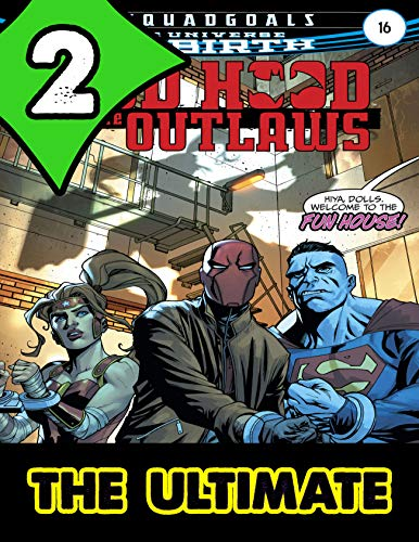 The Ultimate Heroes Red Hood and the Outlaws Collections: Comics Graphic Novels Red Hood and the Outlaws Pack 2 (English Edition)