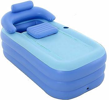 Shopley Outdoor Foldable Inflatable Portable Bathtub