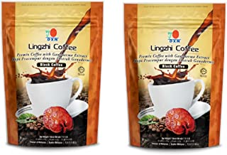 2 Packs DXN Lingzhi Black Coffee with Ganoderma Extract