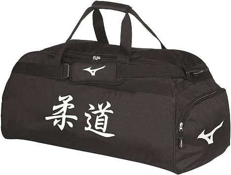 Mizuno Bolsa Kanji japonesa Holdall grande Judo Kanji Blanco