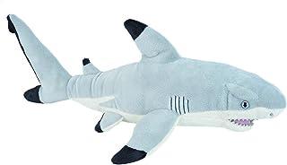 "Wild Republic Black Tipped Shark, Stuffed Animal, Plush Toy, Gifts for Kids, Cuddlekins, 20"" (22484)"