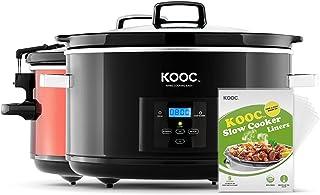 [NEW LAUNCH] KOOC 8.5-Quart Programmable Slow Cooker