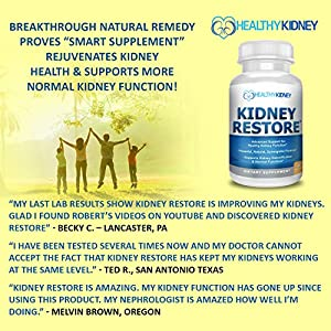 Natural Kidney Cleanse to Support Kidney Function and Detox, Advanced Formula Can Help Boost Kidney Health, Daily Health Supplement Pills for Poor Kidneys, Kidney Flushing, 60 Capsules