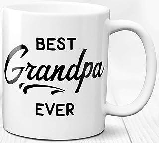 El mejor regalo de taza de café para abuelo para abuelo Taza de cerámica de 330 ml Amor de abuelo