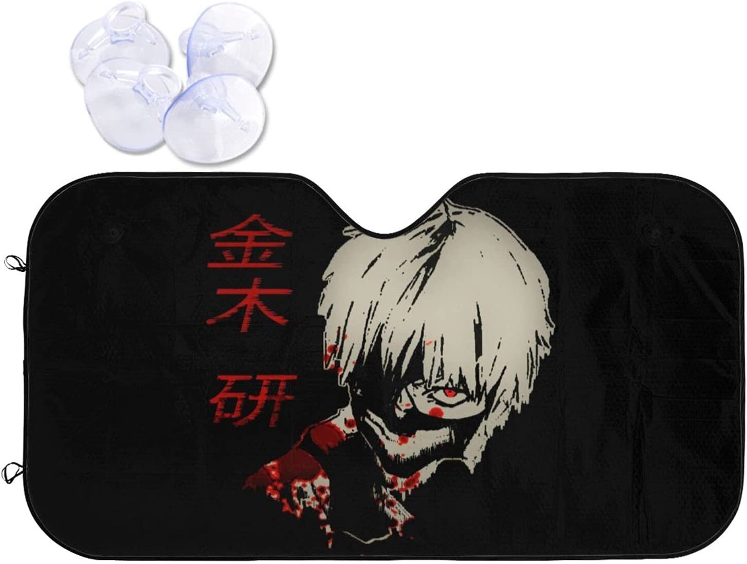 Tokyo Ghoul Car Sunshade Heat and Prevention Selling selling Very popular Viso Windshield Sun