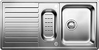 BLANCO Classic Pro 6 S-IF Küchenspüle, Edelstahl Seidenglanz, 516852