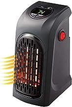 TYZY Mini Ventilador de Aire Caliente hogar Calentador eléctrico Manual Ajustable Estufa Calentador de Pared Enchufe del radiador termostato para el Dormitorio Que Viven campista habitación,UK