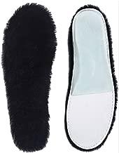 ABUSA Sheepskin Insoles Men's & Women's Premium Thick Wool Fur Fleece Inserts Cozy & Fluffy