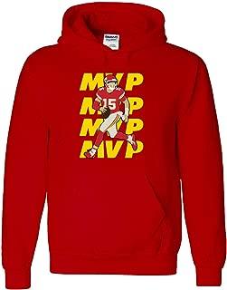 RED Kansas City Mahomes MVP Hooded Sweatshirt
