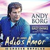 Songtexte von Andy Borg - 33 Jahre Adios Amor - 33 Grosse Erfolge