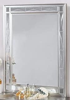 Coaster 204928-CO Vanity Mirror, Metallic Mercury