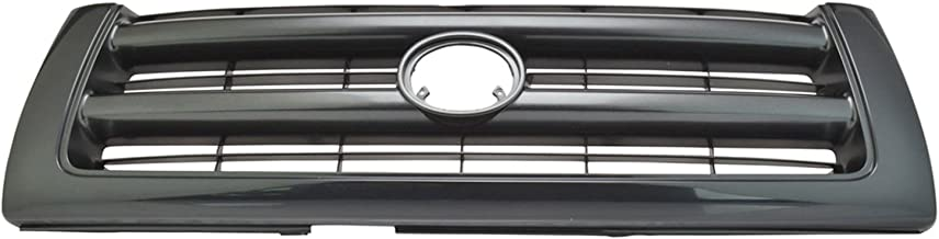 Black Front End Grill Grille for 97-00 Toyota Tacoma Pickup Truck