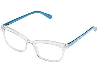 Lilly Pulitzer Tidepool (Crystal Clear) Reading Glasses Sunglasses