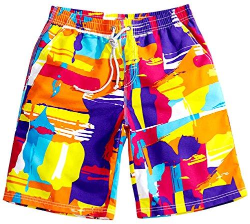 Tailor Pal Love - Hombres Pantalones Cortos de Natación de Playa Pantalón...