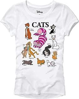 Cats of Disney Marie Chesire Cat Juniors T-Shirt