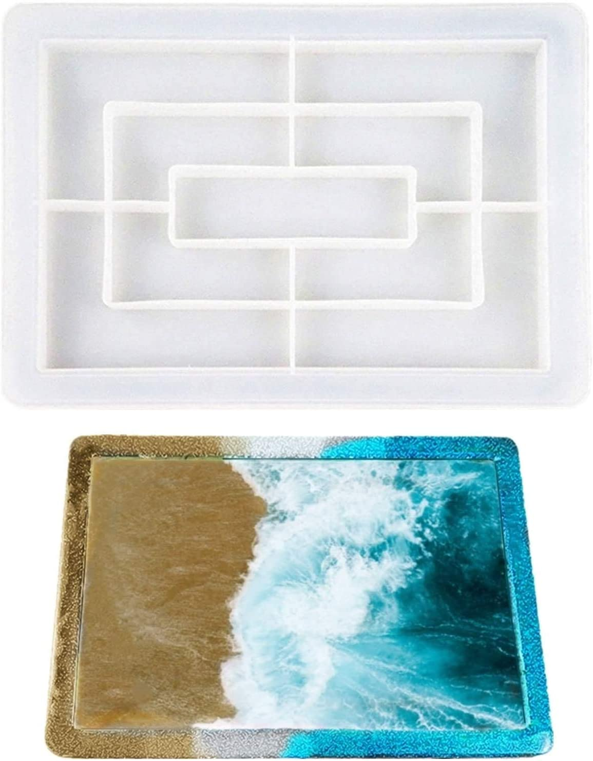 Rolling Tray Resin All Large-scale sale stores are sold Molds,Rolling Molds Edges@with