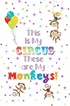 This Is My Circus These Are My Monkeys - 12 Month Undated Weekly Planner: Cute Busy Mom Personal Organizer Calendar