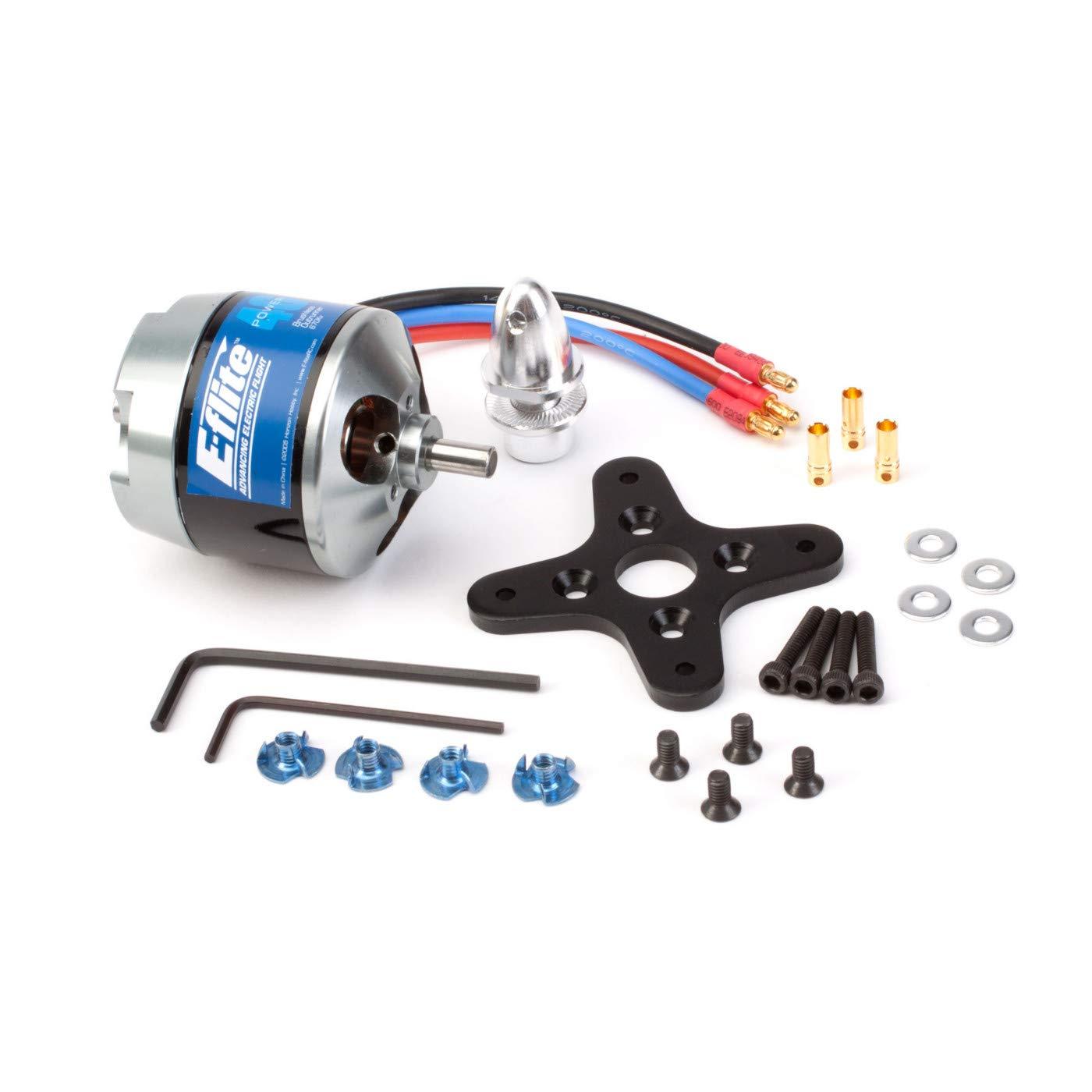E-flite Power 46 Brushless Outrunner Motor, 670Kv: 3.5mm Bul