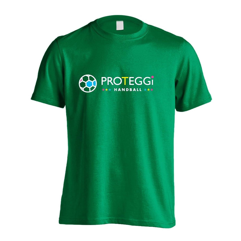 (プロテッジ) PROTEGGi オフィシャルロゴデザイン ボール ホリゾンタル 半袖プレミアムドライTシャツ
