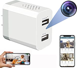Hidden Spy Camera - WiFi Hidden Cameras - Hidden Camera with Live Feed WiFi - Spy Cameras - Home Mini Nanny Cam Hidden Cam...