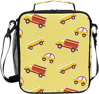 Sac à déjeuner isotherme carré, portable et de grande capacité, motif dessin animé, pour voyage, pique-nique, école, glaci...