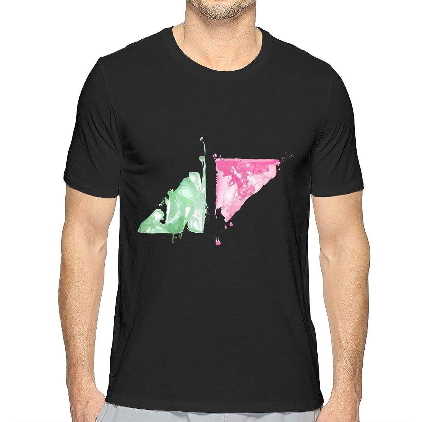 想像力頭痛太平洋諸島Avicii 1 メンズ シャツ 半袖 薄手 カットソー カジュアル トップス オリジナル プリント シンプル ファッション