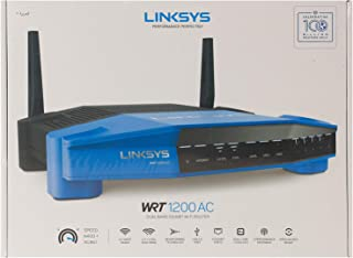 Linksys WRT1200AC AC1200 Dual-Band Wi-Fi Router Black/Blue