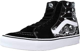 Vans SK8-Ki Herren Sneaker Sneakers High Neck Sneakers aus schwarzem Wildleder