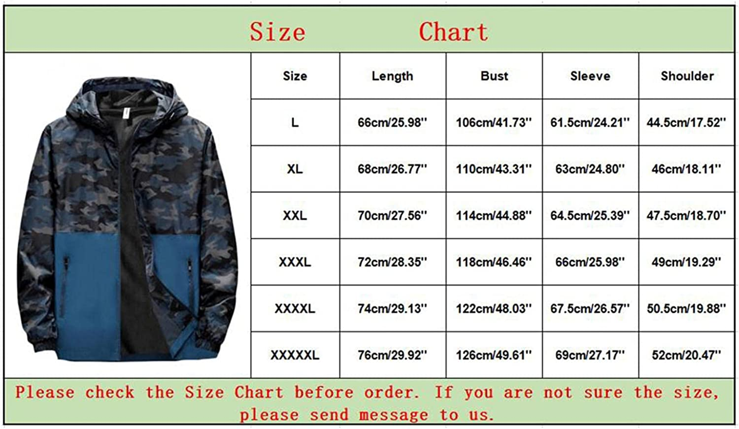 JSPOYOU Mens Raincoats Waterproof With Hood Lightweight Packable Outdoor Rain Jackets Breathable Trench Coats