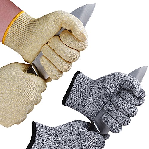 Cut Resistant Gloves With Silicone Grip Dots