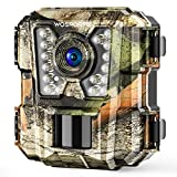 1 Pack Mini Trail Camera 1080P HD Wildlife Scouting Hunting Camera with IR Night Vision Waterproof Video Cam G100