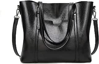 Top Handle Satchel Handbags Shoulder Bag Tote Bags Women Bags Large Capacity Soft Leather 2 Way