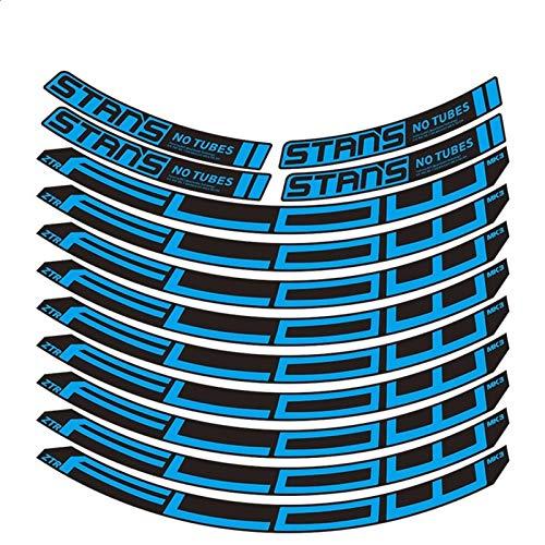 Flow MK3 Pegatinas para rueda de montaña MTB Rim Decal Accesorios para bicicletas Pegatinas para bicicleta Decoración de etiquetas (Color: 27.5er color personalizado)