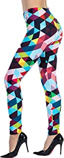 Printed Leggings Basic Patterned Leggings Workout Leggings Women Girls Spandex Leggings L2
