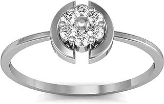 AVSAR 18k (750) White Gold and Diamond Ring for Women