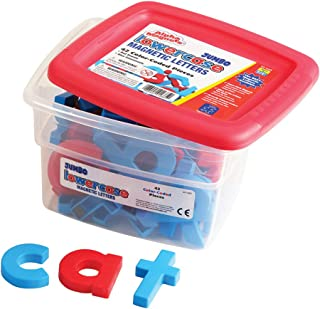 Educational Insights Jumbo AlphaMagnets Color-Coded Lowercase, Ages 6 and up, (42 pieces)