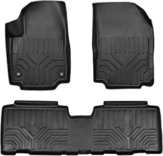 QianBao Front & Rear Nylon 3PCS Car Floor Carpets Liner Floor Mat s Suitable for Chevrolet Equinox 2018 2019(Black)