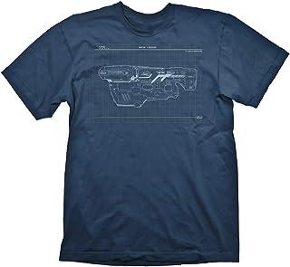 DOOM BFG 9000 Uomo T-Shirt Blu Regular