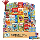A GIFT TO SPREAD THE JOY: Whether you're looking for an Easter gift, snack boxes for adults, care packages for college students, a snack variety pack for kids, or simply a crave box to treat yourself, our Snack Box Variety Pack will do the trick. Our...