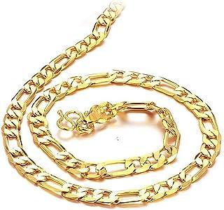 قلادة بطلاء ذهبي قيراط 18 ثلاثة في واحد من جاجافيل مجوهرات جالبة للحظ للرجال