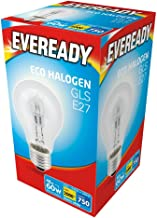 240v 10 x 48w (60w) Halogen GLS Light Bulb E27 ES Edison Screw 240v (Eveready S10135)