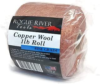 Copper Wool 1lb Roll (Fine Grade) - Made in USA!
