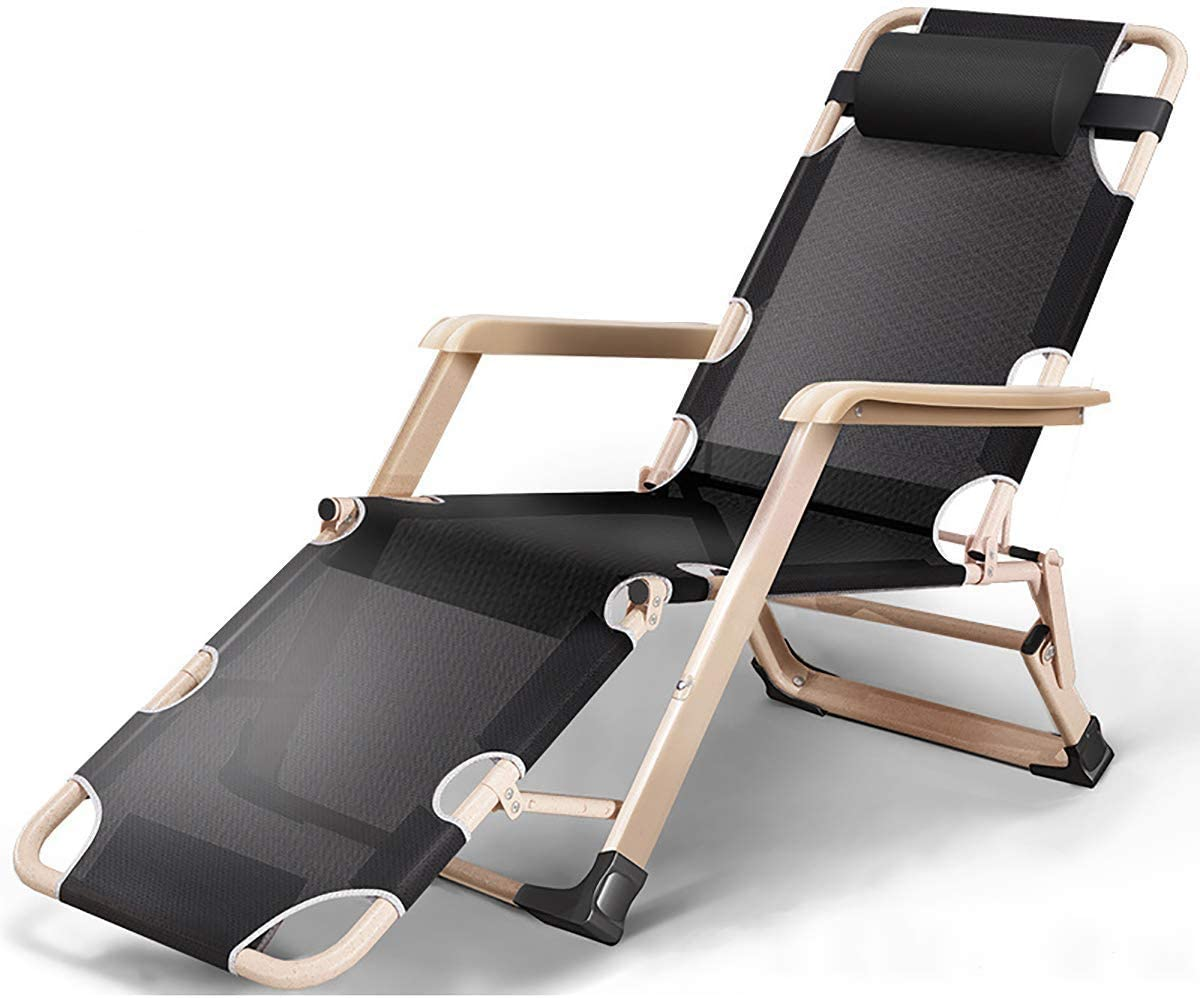 Sun Kansas City Mall Lounger High material Sunbed Reclining Chair Ch Deck Headrest with